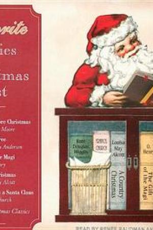 Reading books Favorite Stories of Christmas Past