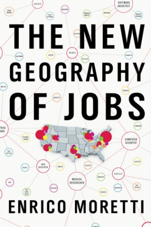 Reading books The New Geography of Jobs
