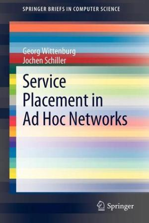 Reading books Service Placement in Ad Hoc Networks