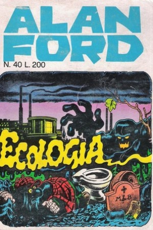 Reading books Alan Ford n. 40: Ecologia