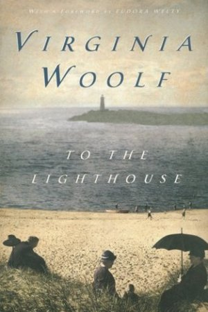 Reading books To the Lighthouse