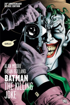 Reading books Batman: The Killing Joke