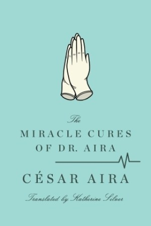 Reading books The Miracle Cures of Dr. Aira