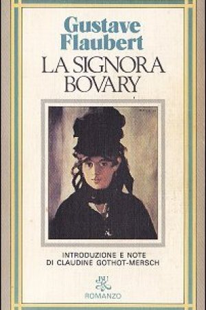Reading books La signora Bovary
