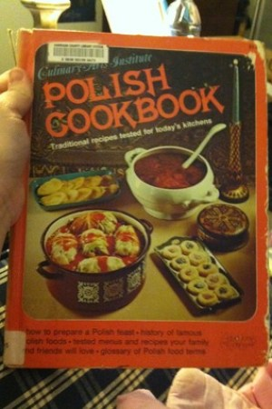 Reading books Polish Cookbook