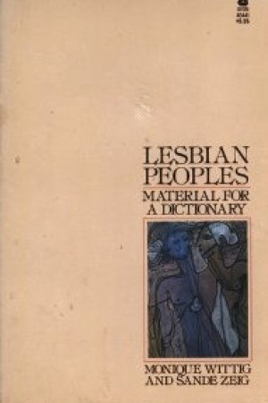 Reading books Lesbian Peoples: Material for a Dictionary