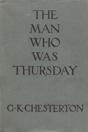 Reading books The Man Who Was Thursday