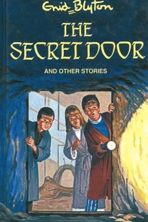 Reading books The Secret Door and Other Stories.