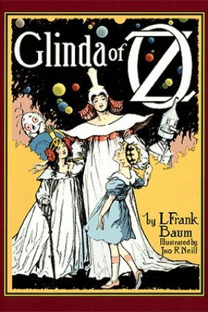 Reading books Glinda of Oz (Oz, #14)