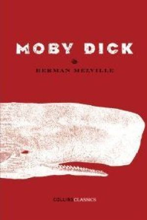 Reading books Moby Dick