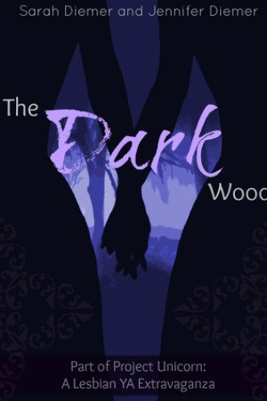 Reading books The Dark Woods: A Lesbian YA Short Story Collection