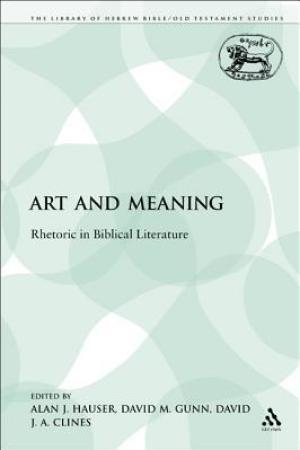 Reading books Art and Meaning: Rhetoric in Biblical Literature