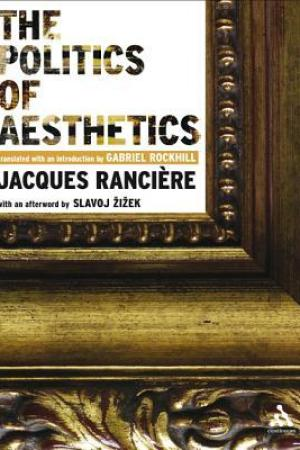 Reading books The Politics of Aesthetics