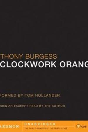 Reading books A Clockwork Orange
