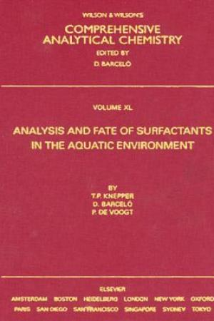 Reading books Analysis and Fate of Surfactants in the Aquatic Environment