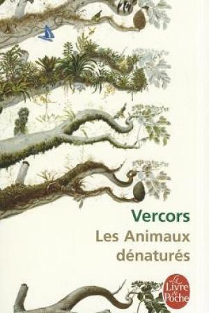 Reading books Les Animaux dnaturs