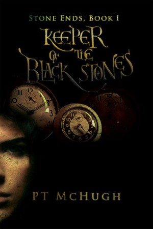 Reading books Keeper of the Black Stones