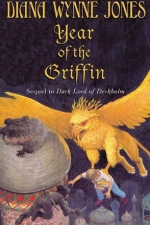 read online Year of the Griffin (Derkholm, #2)