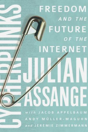 Reading books Cypherpunks: Freedom and the Future of the Internet