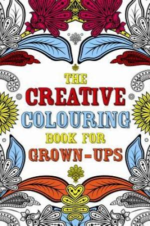 Reading books The Creative Colouring Book for Grown-Ups
