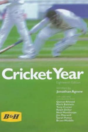 Reading books Benson and Hedges Cricket Year 2000