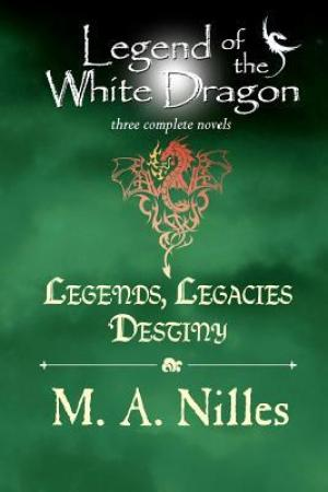 Reading books Legends, Legacies, Destiny (Legend of the White Dragon, #1-3)