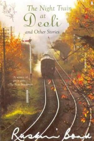 Reading books The Night Train at Deoli and Other Stories