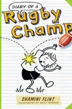 Reading books Diary of a Rugby Champ