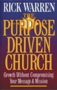 Download The Purpose Driven Church: Every Church Is Big in God's Eyes pdf / epub books