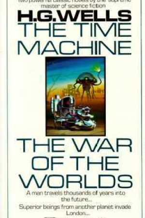 Reading books The Time Machine/The War of the Worlds