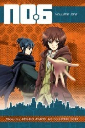 Reading books No. 6: The Manga, Volume 01 (No. 6: The Manga, #1)