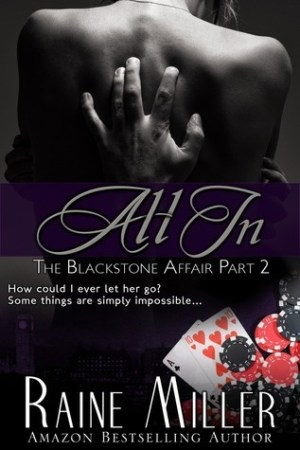 Reading books All In (The Blackstone Affair, #2)