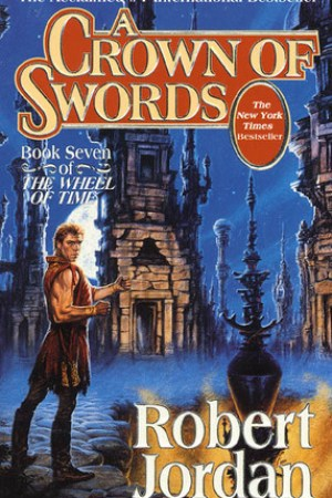 Reading books A Crown of Swords (Wheel of Time, #7)