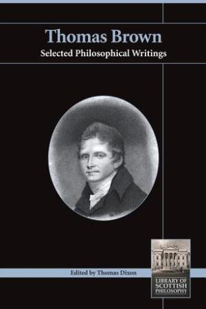 Thomas Brown: Selected Philosophical Writings