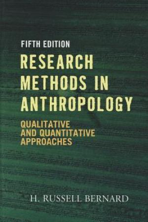 Reading books Research Methods in Anthropology: Qualitative and Quantitative Approaches