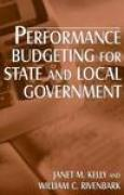 Download Performance Budgeting for State and Local Government pdf / epub books