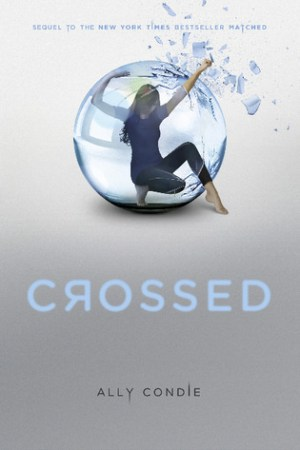 Reading books Crossed (Matched, #2)