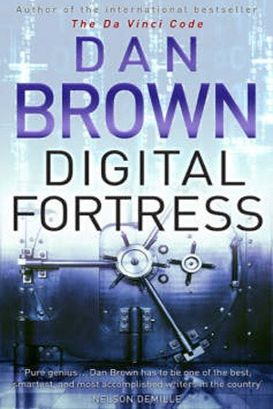 Reading books Digital Fortress