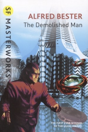 Reading books The Demolished Man