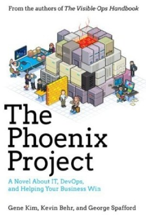Reading books The Phoenix Project: A Novel About IT, DevOps, and Helping Your Business Win