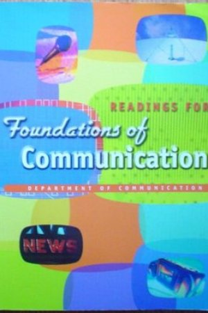 Reading books Readings for Foundations of Communication