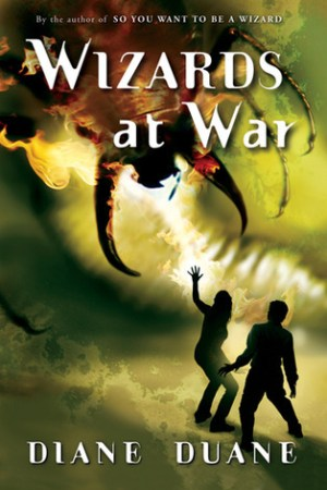 Reading books Wizards at War (Young Wizards, #8)
