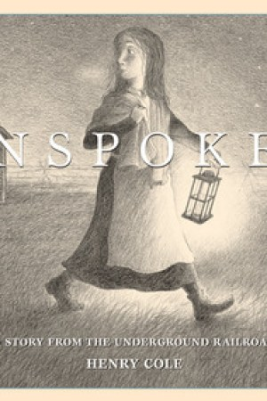 Reading books Unspoken: A Story from the Underground Railroad