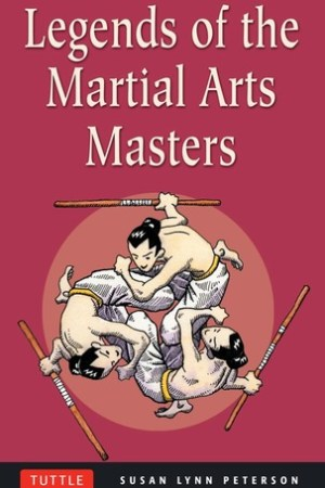 Reading books Legends of the Martial Arts Masters