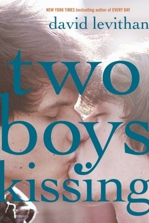 Reading books Two Boys Kissing