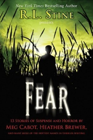 Reading books Fear: 13 Stories of Suspense and Horror
