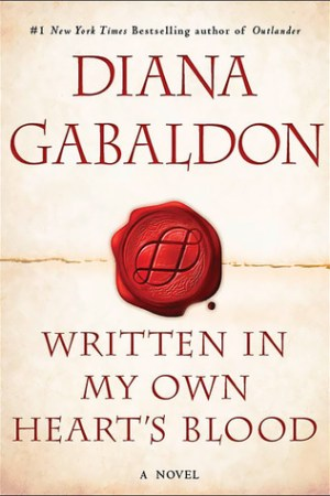 Reading books Written in My Own Heart's Blood (Outlander, #8)