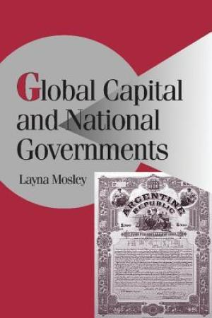 Reading books Global Capital and National Governments