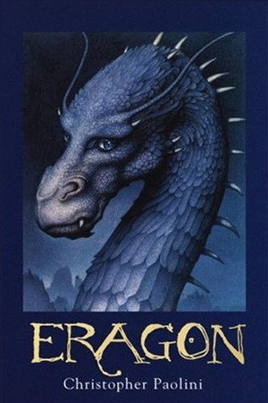 Reading books Eragon (The Inheritance Cycle, #1)