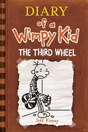 Reading books The Third Wheel (Diary of a Wimpy Kid, #7)